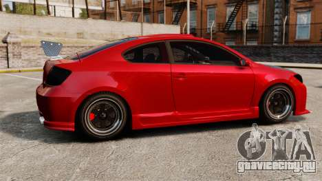 Scion tC 2.4 v2.0 Tuning Edition для GTA 4 вид слева
