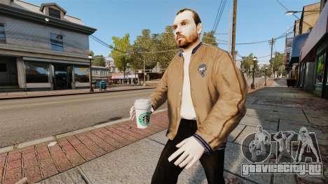 Новый стаканчик кофе для GTA 4 третий скриншот