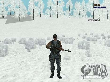 Спецназовец для GTA San Andreas второй скриншот