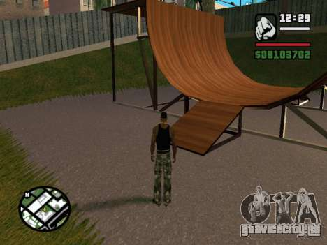 New BMX Park v1.0 для GTA San Andreas пятый скриншот