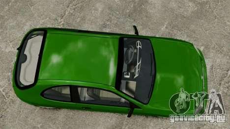 Daewoo Lanos FL 2001 US для GTA 4 вид сзади