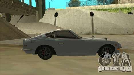 Nissan Fairlady S30Z для GTA San Andreas вид сзади слева