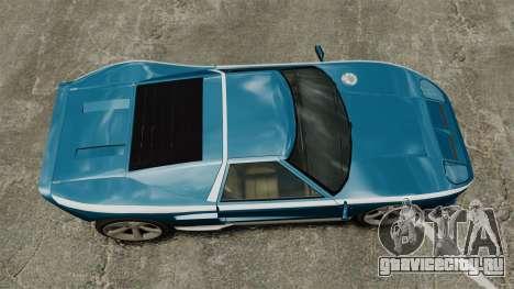 Обновлённый Bullet GT для GTA 4 вид справа