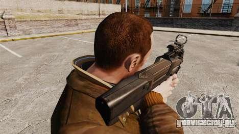 Пистолет-пулемёт FN P90 для GTA 4 второй скриншот