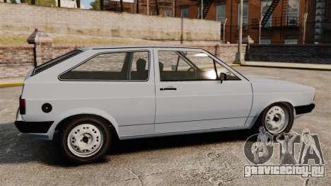Volkswagen Gol LS 1986 для GTA 4 вид слева