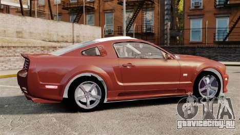 Ford Mustang Saleen SA-25 2008 для GTA 4 вид слева