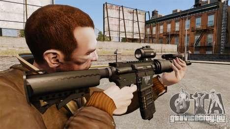 Тактическая M4 v1 для GTA 4 второй скриншот