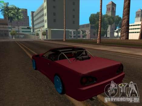 Elegy pickup by KaMuKaD3e для GTA San Andreas вид слева