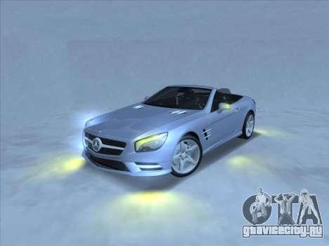 Mercedes-Benz SL500 2013 (ImVehFt v2.02) для GTA San Andreas