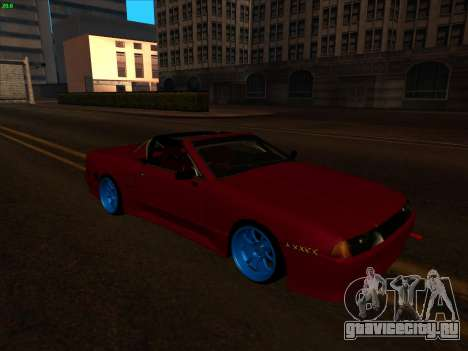 Elegy pickup by KaMuKaD3e для GTA San Andreas вид сзади слева