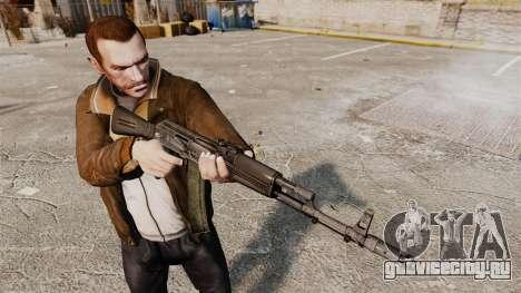 AK-74M для GTA 4 третий скриншот