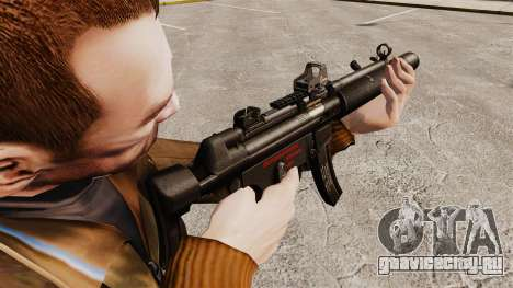 Пистолет-пулемёт MP5SD v1 для GTA 4 второй скриншот