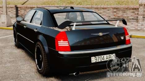 Chrysler 300C Pimped для GTA 4 вид сзади слева