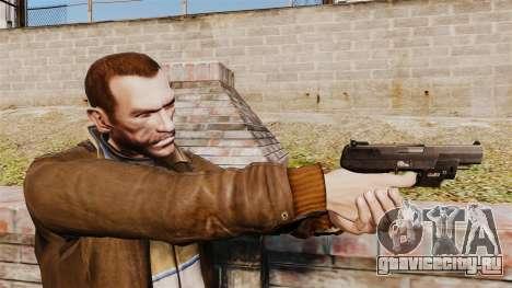 Самозарядный пистолет FN Five-seveN v1 для GTA 4