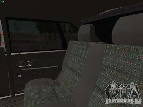 ВАЗ 2114 для GTA San Andreas колёса