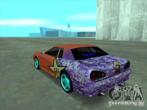 Drift elegy by KaMuKaD3e для GTA San Andreas вид снизу