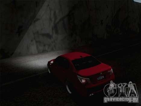 Ближний и дальний свет фар для GTA San Andreas третий скриншот