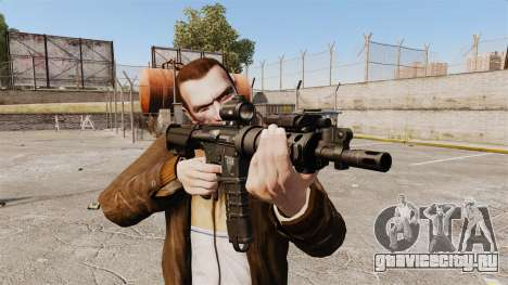 Тактическая M4 v1 для GTA 4 третий скриншот