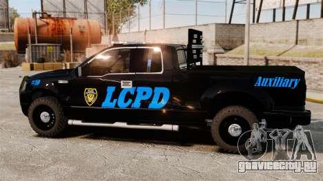 Ford F-150 v3.3 LCPD Auxiliary [ELS & EPM] v3 для GTA 4 вид слева