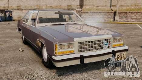 Ford LTD Crown Victoria для GTA 4