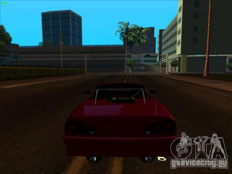 Elegy pickup by KaMuKaD3e для GTA San Andreas вид сзади