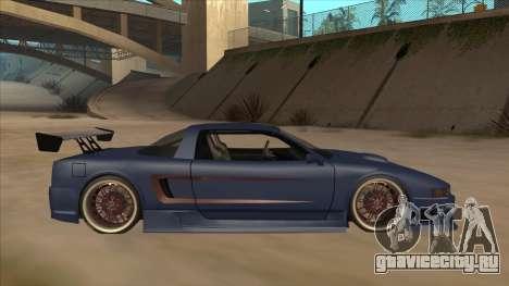 Infernus 2013 для GTA San Andreas вид сзади слева