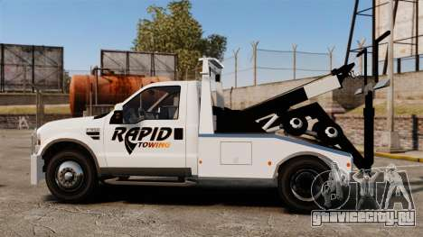 Ford F-550 Towtruck Rapid Towing [ELS] для GTA 4 вид слева