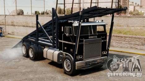 Packer-трамплин для GTA 4