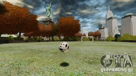 Футбольное поле для GTA 4 третий скриншот