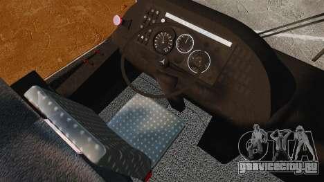 Mercedes-Benz O457 для GTA 4 вид сзади