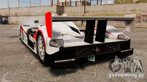 Porsche RS Spyder Evo для GTA 4 вид сзади слева