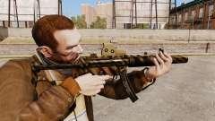 Пистолет-пулемёт MP5SD v4 для GTA 4