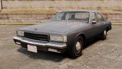 Chevrolet Caprice 1989 для GTA 4