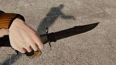 Нож The Alabama Slammer чёрный