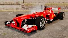 Ferrari F138 2013 v4 для GTA 4