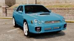 Subaru Impreza седан для GTA 4
