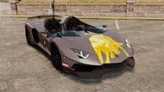 Lamborghini Aventador J Big Lambo для GTA 4