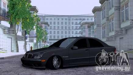 Mercedes-Benz C32 AMG для GTA San Andreas