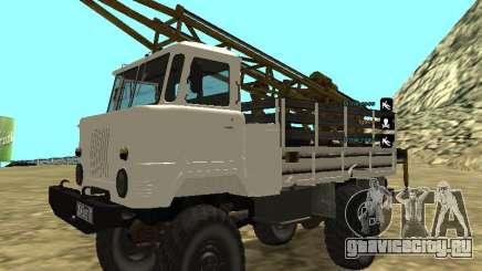 Газ 66 Буровая для GTA San Andreas