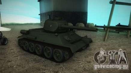 T 34-85 образец 1945 для GTA San Andreas
