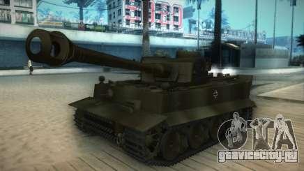 Pzkpfw VI Tiger I для GTA San Andreas