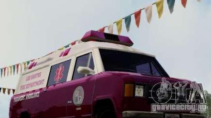 Vapid Ambulance 1986 для GTA San Andreas