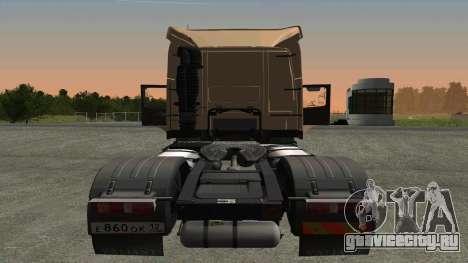 Volvo FM16 для GTA San Andreas вид справа