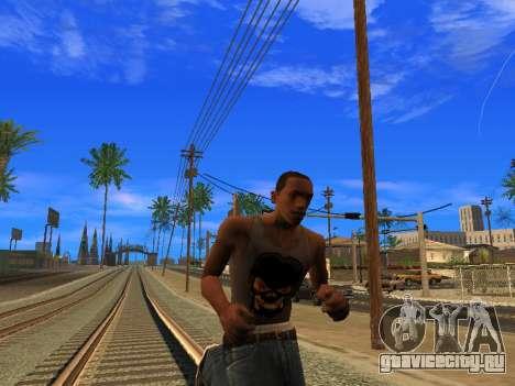 Новая майка CJ для GTA San Andreas четвёртый скриншот