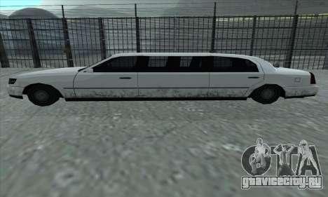 Stretch из GTA 5 для GTA San Andreas вид слева