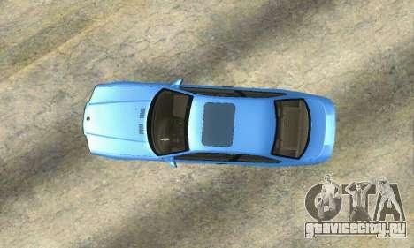 BMW M3 (E36) для GTA San Andreas вид сзади