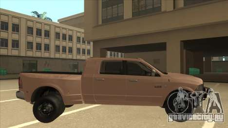 Dodge Ram [Johan] для GTA San Andreas вид сзади слева