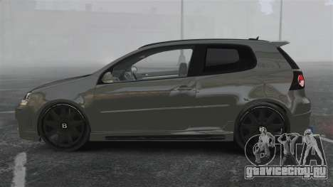 Volkswagen Golf GTi DT-Designs для GTA 4 вид слева