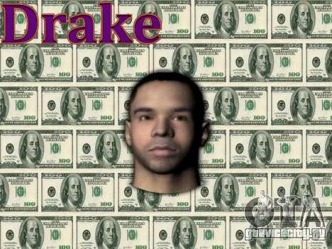 Drake для GTA San Andreas третий скриншот