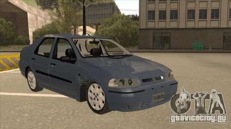 Fiat Siena Ex для GTA San Andreas вид слева